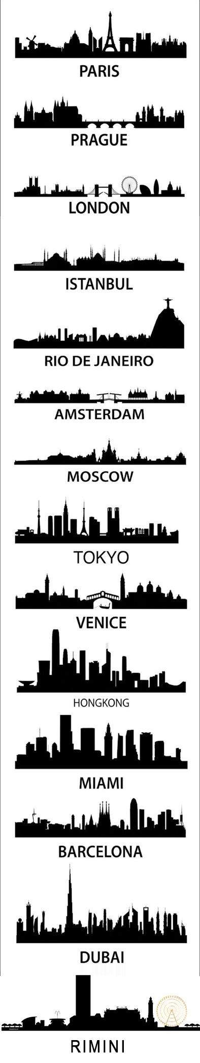 Well, I've made it to 5 of them! More to go. (Although I don't remotely know how Miami got on there instead of NY or Boston or LA or SD or Chicago or....)