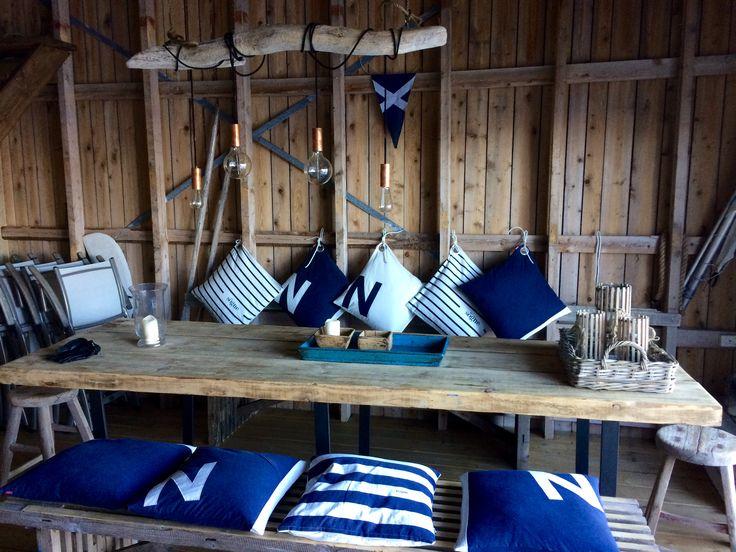 Naust Boathouse interior