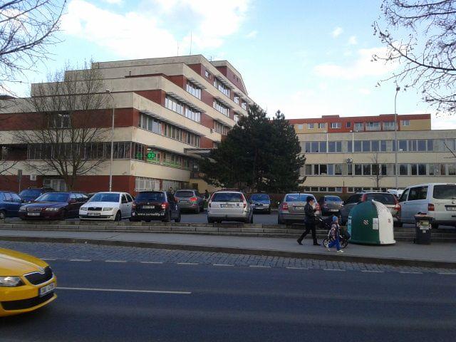 Hace 60 aňos había en Barrandov un Hospital.