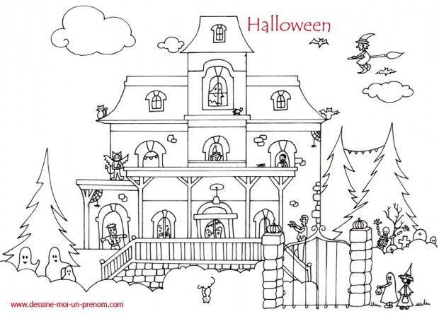 71 best Coloriages pour les enfants images on Pinterest Coloring - dessin de maison a imprimer