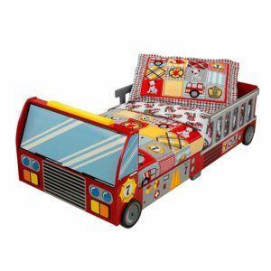 Viele Jungs wünschen sich ein Feuerwehrbett / Kinderbett Feuerwehr zum Schlafen. Ein Highlight in jedem Kinderzimmer.