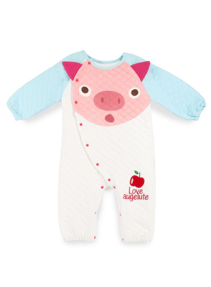BINKI Стеганое Боди Pig из Хлопка #binkiru #детскаяодежда #магазиндетскойодежды