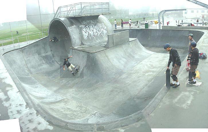 Image result for Exterior Skateparks downtown new york