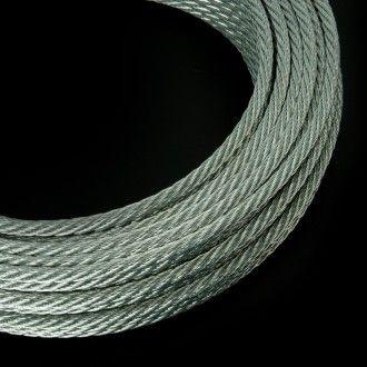 CABLE - El cable es un material indispensable para soportar o colgar elementos que requieran cierta resistencia. Aquí podrás escoger entre cable de acero, galvanizado, inoxidable, ...