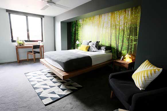 The Block Sky High: Room Reveal: Bec + George's bedroom