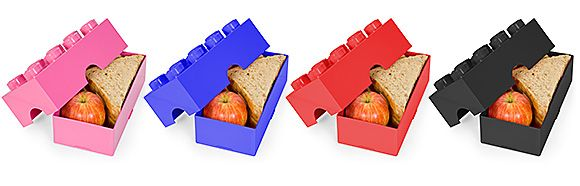 Wouldn't lunch be fun with a LEGO Lunchbox. Will they eat more then?
