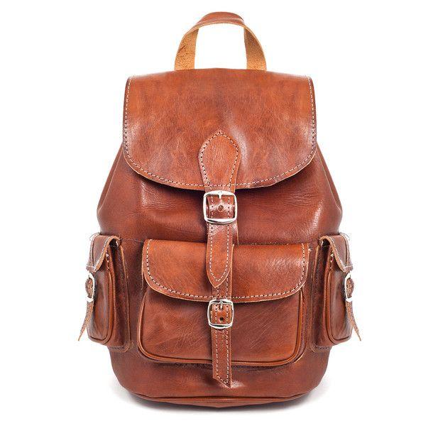 eu.Fab.com | Leather Backpack M Brown