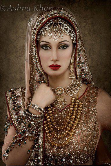 Love the bridal portrait!