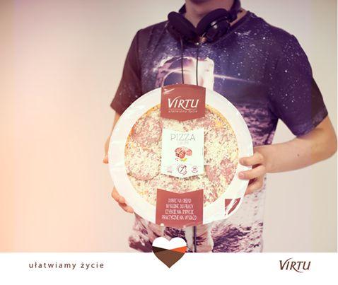 Ułatwiamy życie tym, którzy lubią się bawić! :) Pizze Virtu idealne na imprezy!