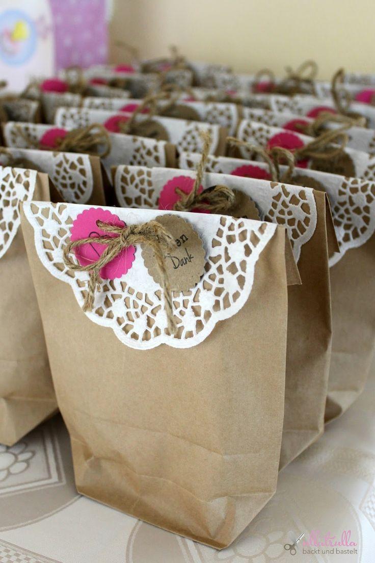 ullatrulla backt und bastelt: Guten Freunden gibt man ...   DIY für ein Gastgeschenk