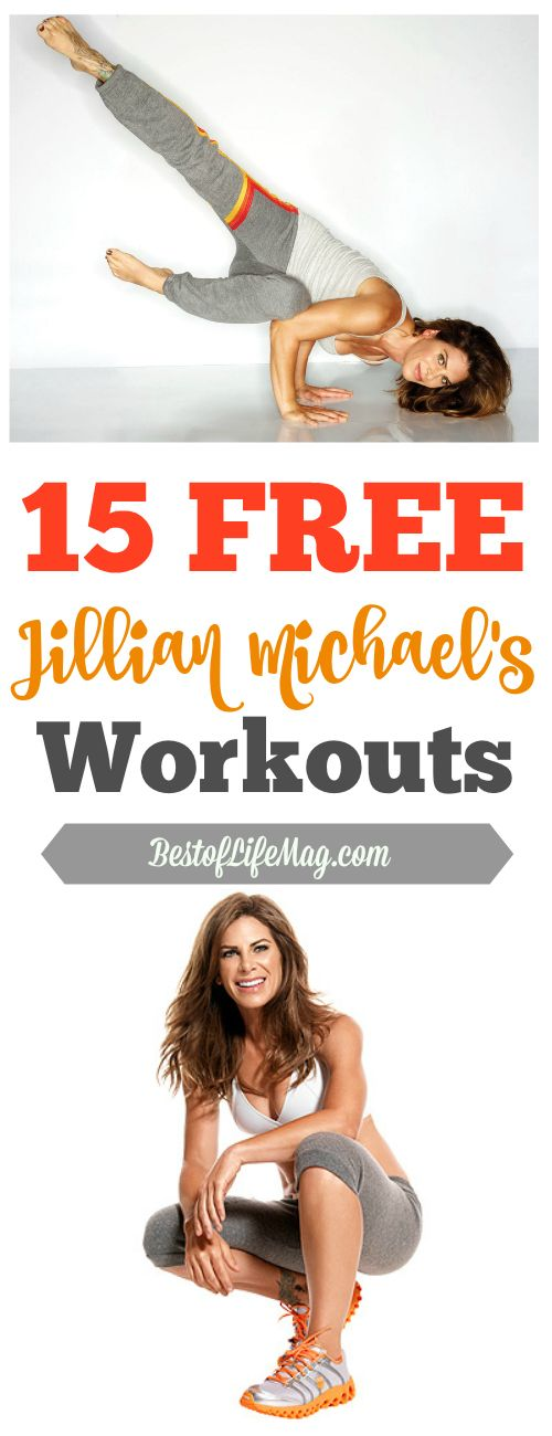Anyone can do these free Jillian Michaels workouts at home or on the go to be consistent with their workout plan!