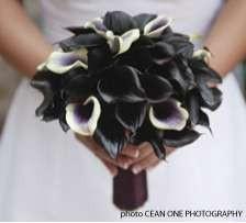 gothic wedding bouquet victoriafaye