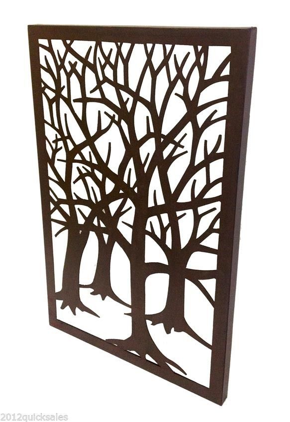 Large Metal Tree Wall Art Home Decor Fancy Garden Indoor Outdoor