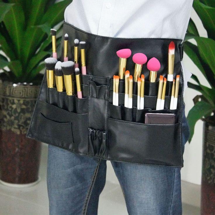 9c3f06f76e14 Cosmetic Makeup Brush Apron Bag Artist Belt Strap | maquillaje ...