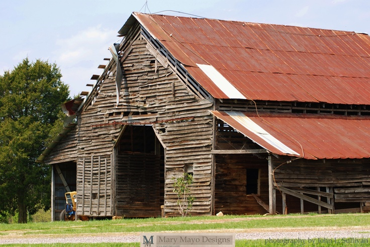 100 year old barn in Wilkes County, NC