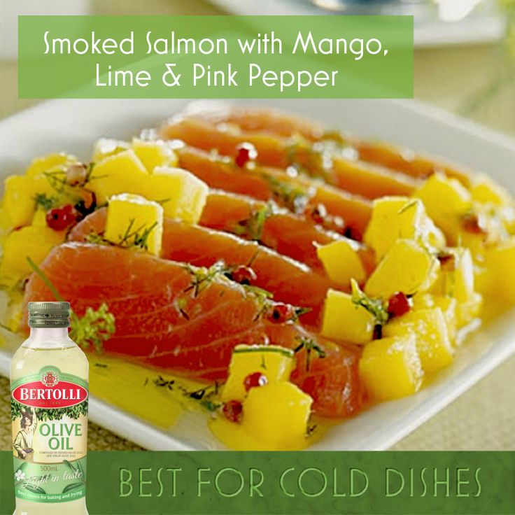 Serve up this delicious antipasti addition to ensure raving reviews! Click the image for this tasty Smoked Salmon, Mango, Lime and Pink Pepper #Recipe!