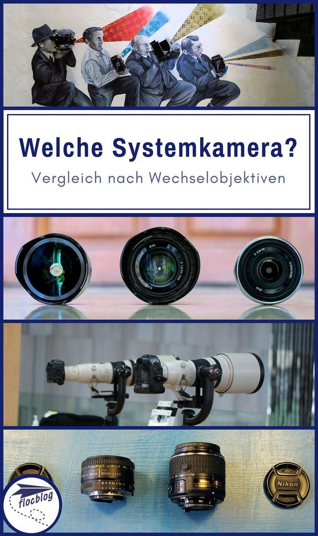 """""""Welche Systemkamera?"""" ist die falsche Frage. Wichtiger ist, für welches Objektiv-System du dich entscheidest. Wechselobjektive machen finanziell und optisch mehr aus, als die Kamera selbst. #Systemkamera #Digitalkamera #Reisekamera #Reisefoto #Fotografie #Kameratest #Kameraerfahrung #Bestenliste #Vergleich #Objektiv #Wechselobjektiv #Zoomobjektiv #Festbrennweite #Sony #Canon #Fuji #Panasonic #Olympus #Kaufberatung"""