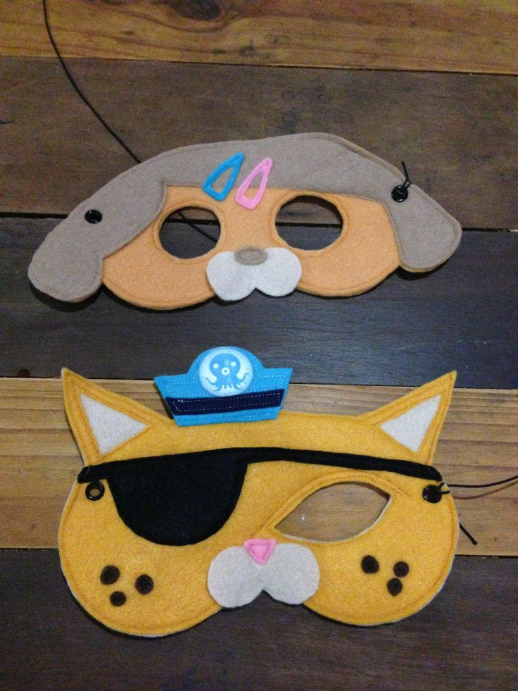 Octonaut Masks - Dashi and Quazary