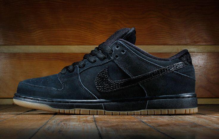 c8f9118e2965 ... cheapest nike sb all black leather nike sb dunk low pro black gum eu  kicks sneaker