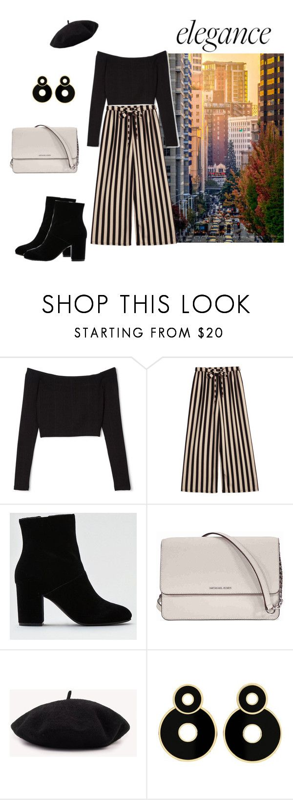 """""""Elegance"""" by mia-arvola on Polyvore featuring American Eagle Outfitters and Michael Kors"""