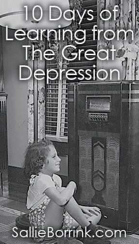Depression Era Cooking with Clara - Learning from the Great Depression | SallieBorrink.com