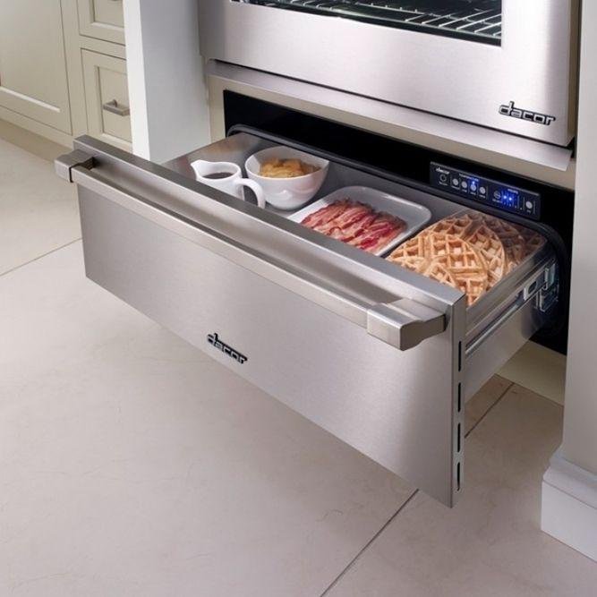 ¡Que no se enfríe la comida! Con un cajón caliente de @dacorkitchen en tu cocina despreocúpate.  #TuProyectoenNuestrasManos #JamesandSteven