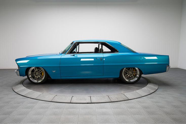 1967 Blue Chevrolet Nova Pro Touring LS7 660hp V8 | Gear X Head