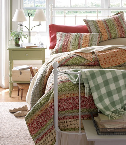 17 Best images about L.L bean on Pinterest | Cottages, Beans and ... : llbean quilts - Adamdwight.com