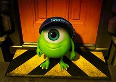 baby mike wazowski. oh pixar you def exceeded my expectations