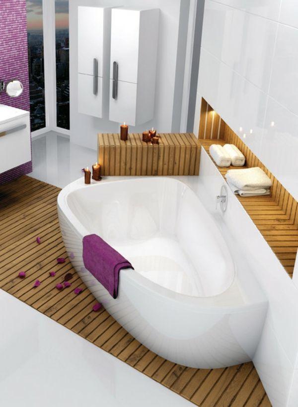 Les 25 meilleures id es concernant baignoire asym trique sur pinterest baignoire d angle - Baignoire d angle asymetrique ...