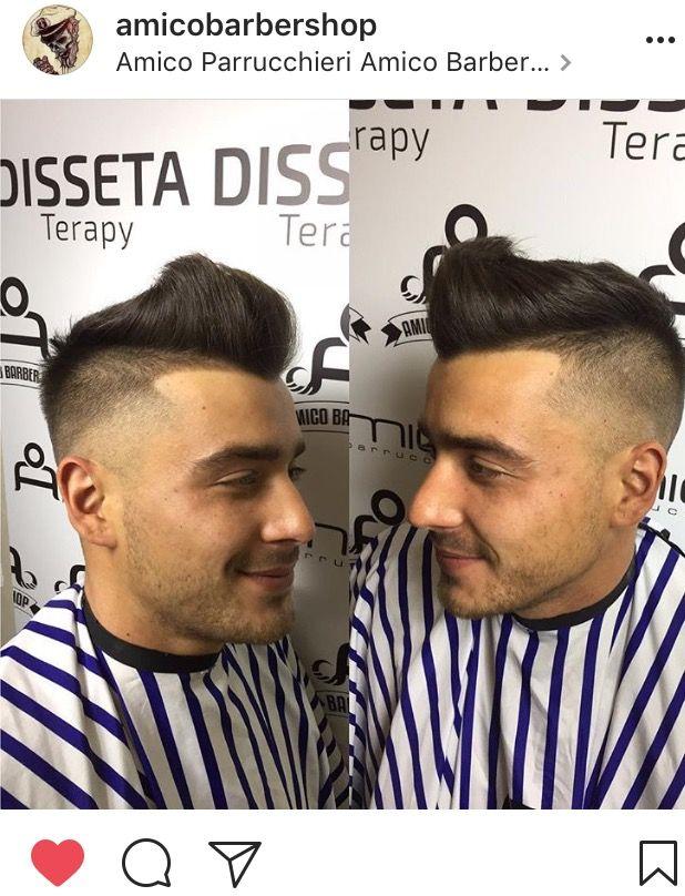 Sfumatura uomo 2017 A Barber Shop tel 077121939