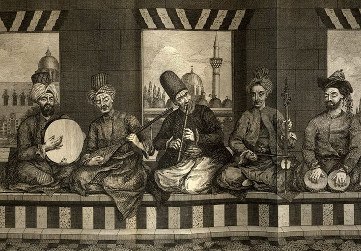 Musicians from Aleppo, 18th century