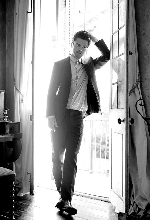 Dominic Cooper. I had an epiphany last night, remembering this mans existence.