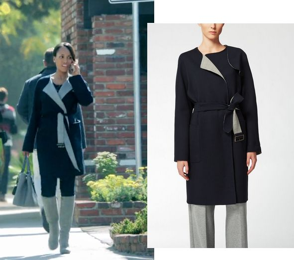 Max Mara Wool Coat on Olivia Pope