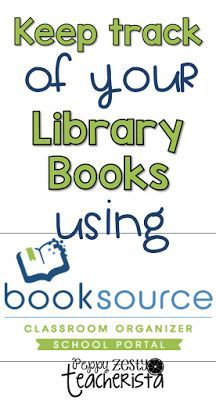 Don't lose classroom books again! Use Classroom Booksource to keep an online database of all of you library books!