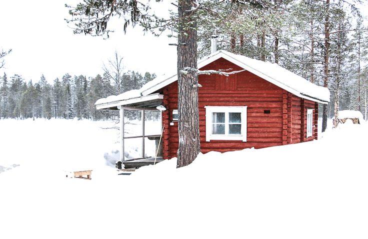 sauna finlandais laponie voyage