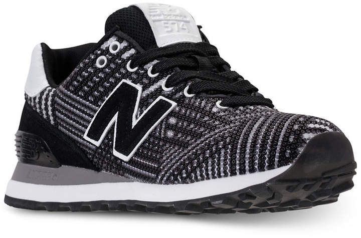 sneakers for cheap 1ad5b 5dd52 New Balance Women's 574 Beaded Casual Sneakers from Finish ...