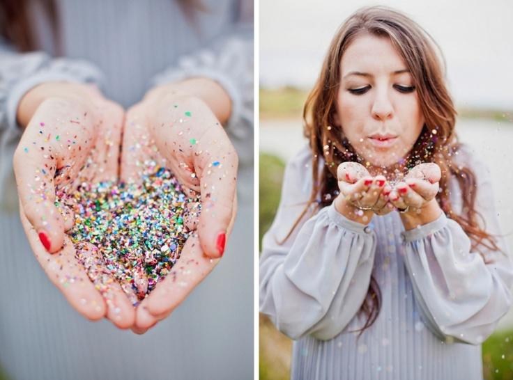 Glitter!  Photo by Danelle Bohane