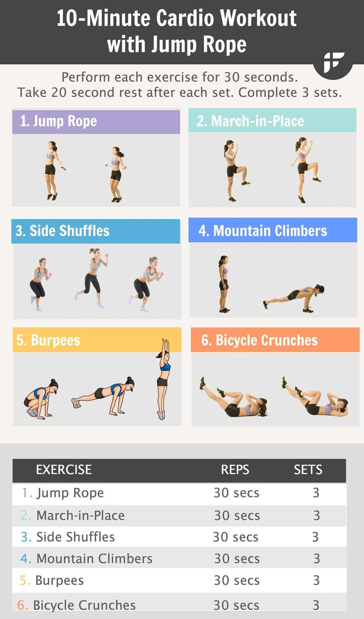 cardio workout routine for weight loss