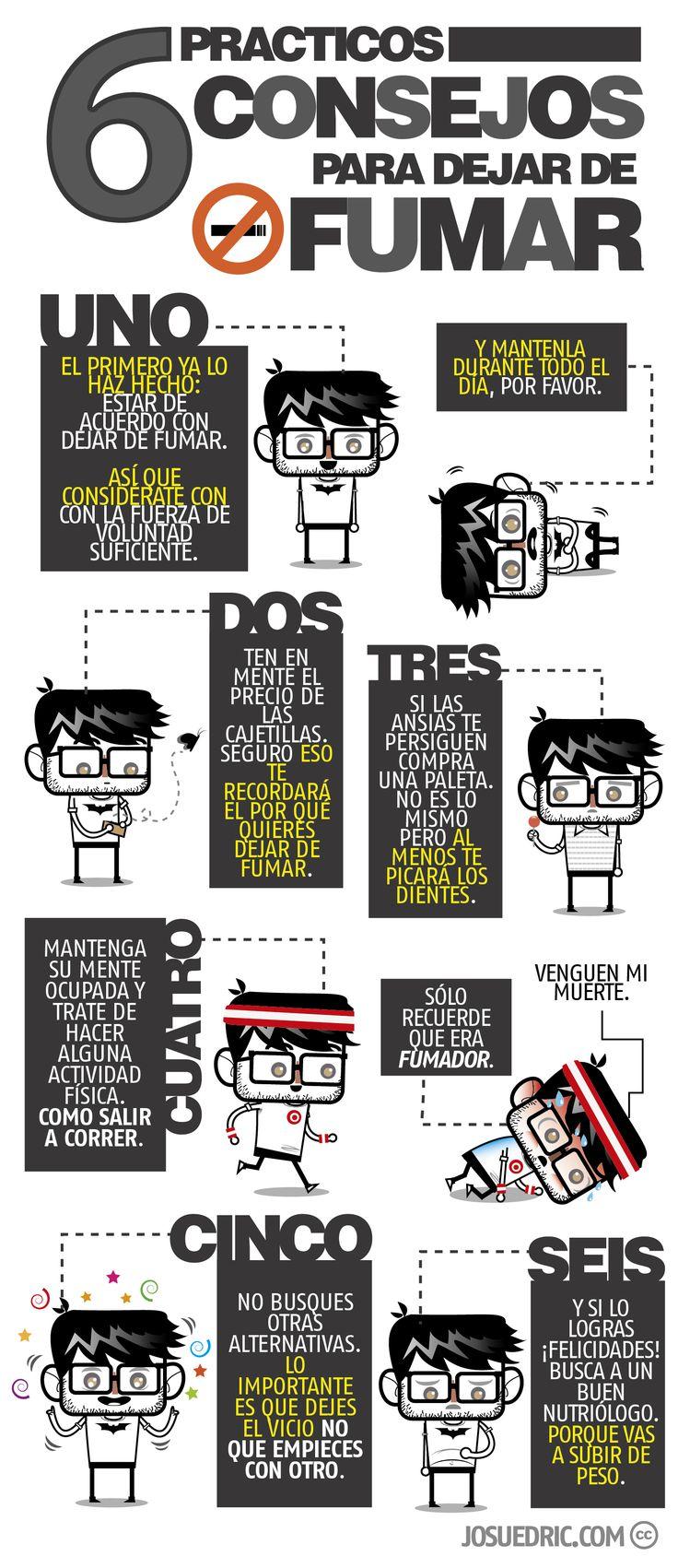 Seis Consejos Practicos Para Dejar De Fumar