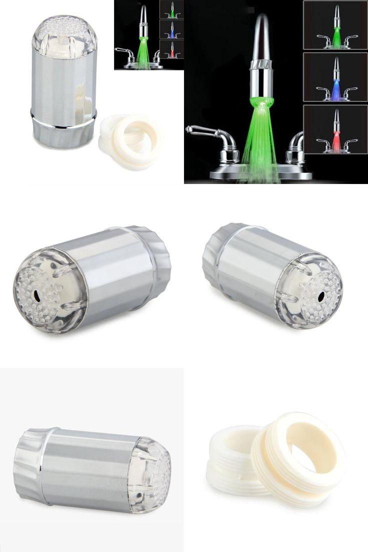 [Visit to Buy] MYLB Spruzzatore Soffione Cromato a LED 3 Colori per Doccia Doccetta #Advertisement