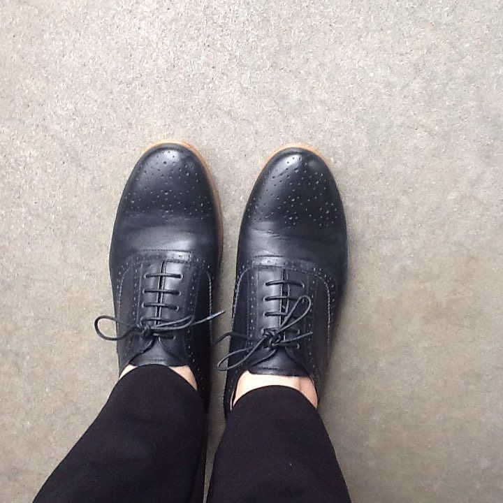 Just Arrived Lizzy by Florsheim in Black #leather #brogues #love #portfairyfashion #portfairy #fashion #style #comfort by iftheshoefitsisabellaportfairy