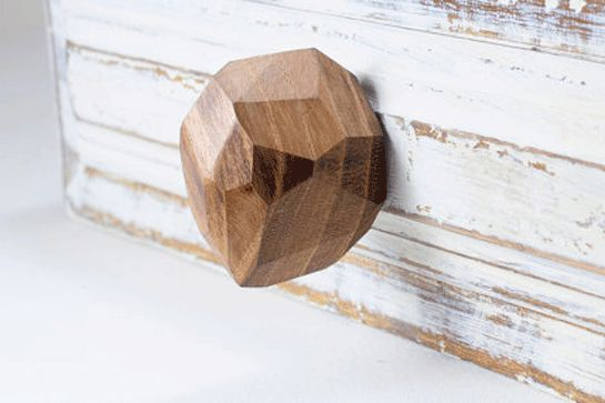 10 Apartment Upgrades That Are SO Worth The Splurge #refinery29  http://www.refinery29.com/apartment-upgrades#slide-4  Cabinet KnobsThey may be tiny, but quality cabinet knobs are a major improvement over their came-with-the-space counterparts. These wooden gems, made in Spain of faceted walnut, are an elegant, unexpected addition....