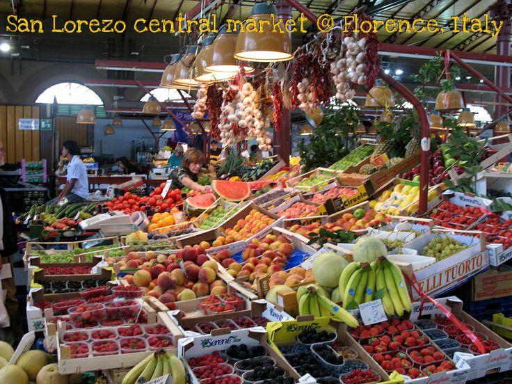 San Lorenzo central market @ Florence, Italy