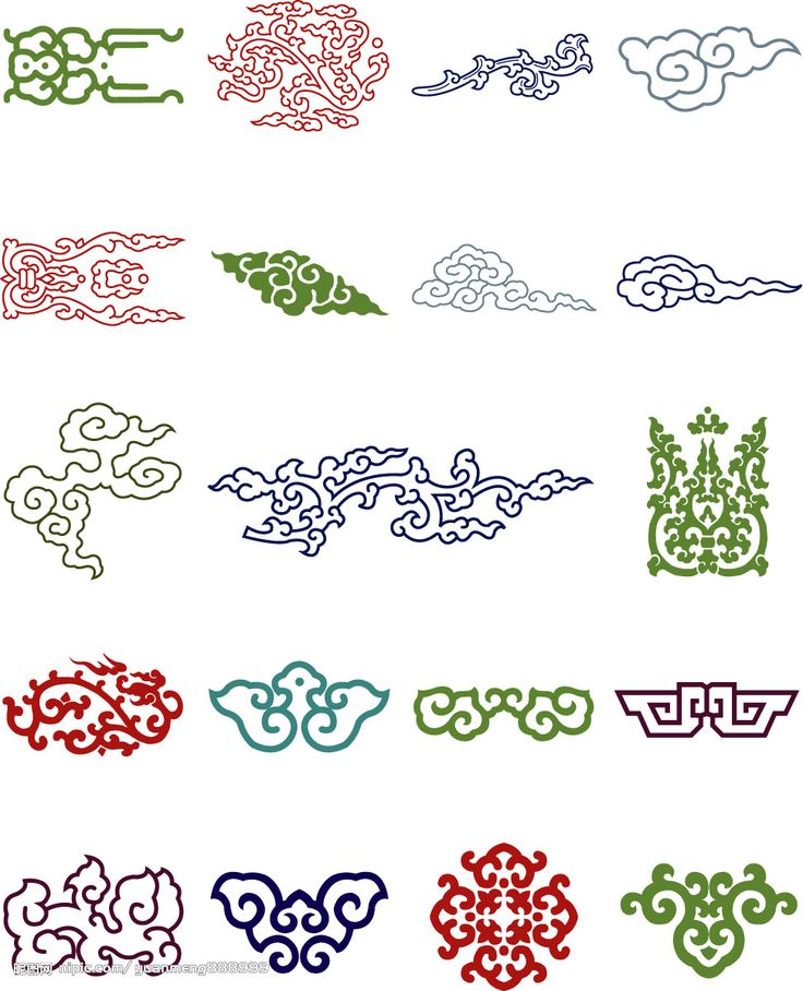Chinese Decorative patterns 传统纹样