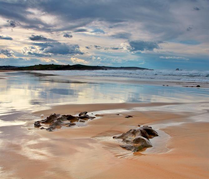 Cantabria - Valdearenas beach