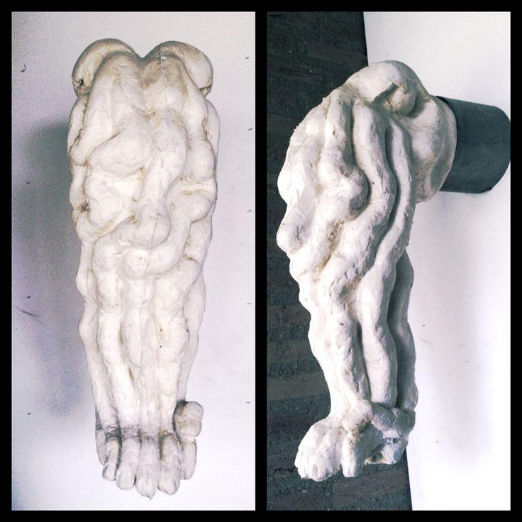 'De Graai' Een kunstwerk dat anders aanvoelt dan op het eerste gezicht doet vermoeden.. #kunst #art #siliconen ! Made by Frans van Hintum