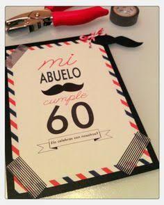 tarjeta de cumpleaños 60 años hombre - Buscar con Google