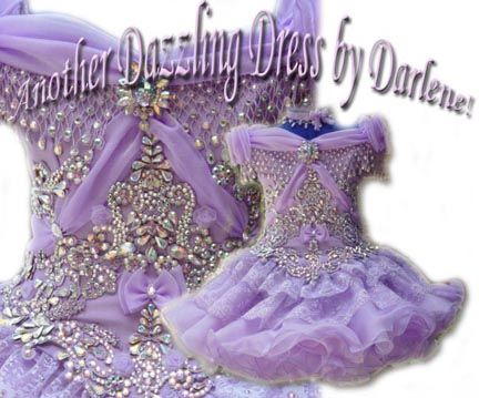 Decorating a pageant or prom dress? Learn how at www.glitzonline.com
