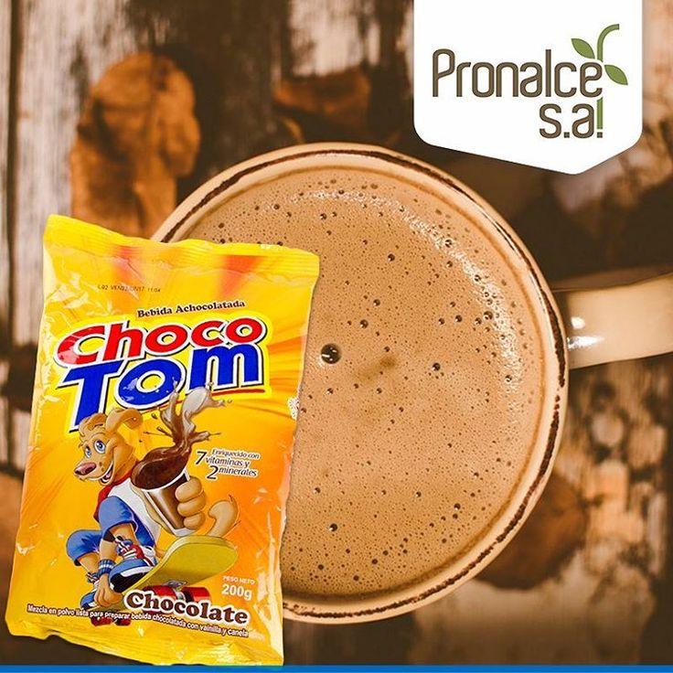 #ChocoTom es la bebida achocolatada de #Pronalce especial para los niños. Se disfruta fría o caliente.    #Cereales #Avena #Chocolate #Yogurt #Kumis #Nutrición #Salud #Cereal #Desayuno